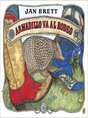 cover image of Armadillo va al rodeo