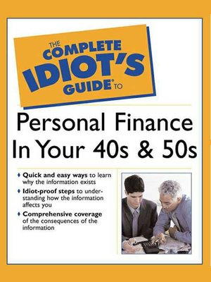 The complete idiots guide to chess by patrick wolff overdrive cover image of the complete idiots guide to personal finance in your 40s fandeluxe Images