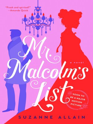cover image of Mr. Malcolm's List