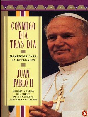 cover image of Conmigo dia tras dia