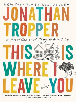 cover image of This Is Where I Leave You