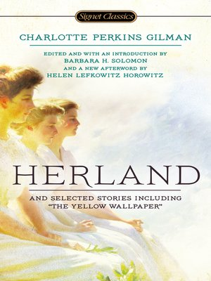 cover image of Herland and Selected Stories