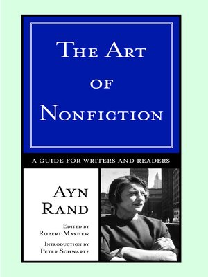 cover image of The Art of Nonfiction