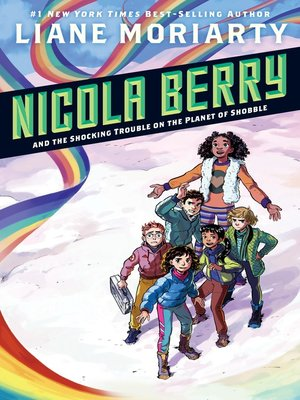 cover image of Nicola Berry and the Shocking Trouble on the Planet of Shobble
