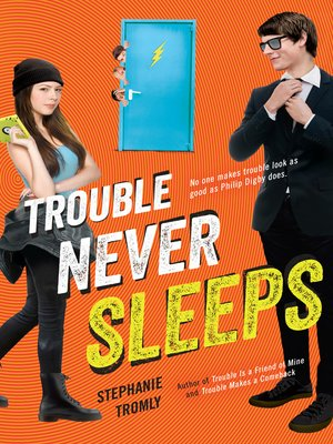 cover image of Trouble Never Sleeps