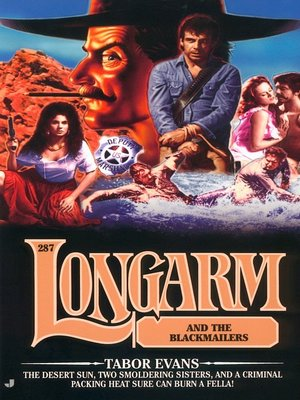 cover image of Longarm and the Blackmailers
