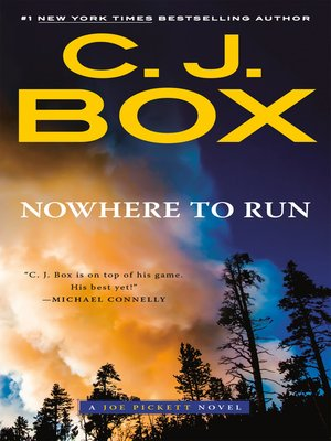 cover image of Nowhere to Run