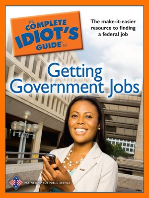 cover image of The Complete Idiot's Guide to Getting Government Jobs