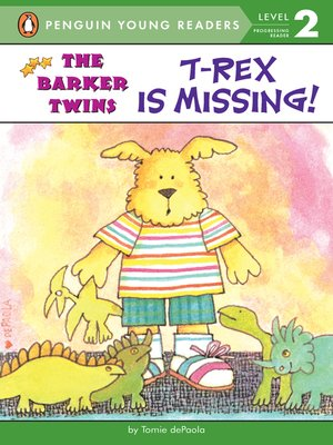 cover image of T-Rex Is Missing!