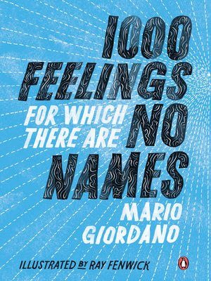cover image of 1,000 Feelings for Which There Are No Names