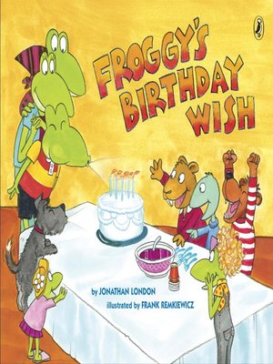 cover image of Froggy's Birthday Wish