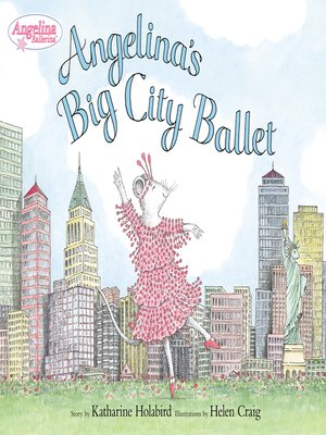 cover image of Angelina's Big City Ballet