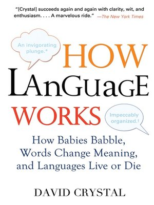 cover image of How Language Works