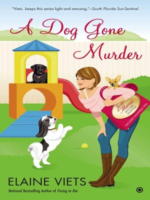 cover image of A Dog Gone Murder