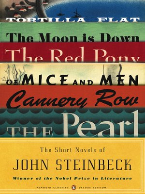 cover image of The Short Novels of John Steinbeck