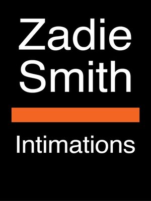 cover image of Intimations