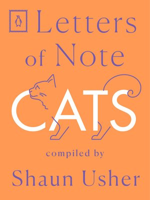 cover image of Letters of Note--Cats
