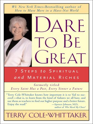 cover image of Dare to Be Great!
