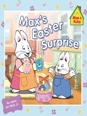 cover image of Max's Easter Surprise