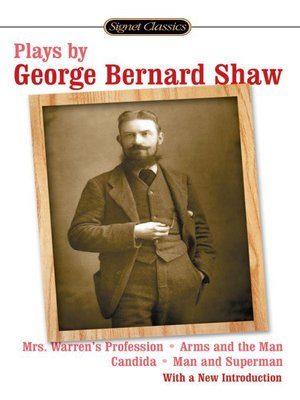 cover image of Plays by George Bernard Shaw