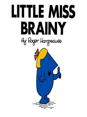 cover image of Little Miss Brainy