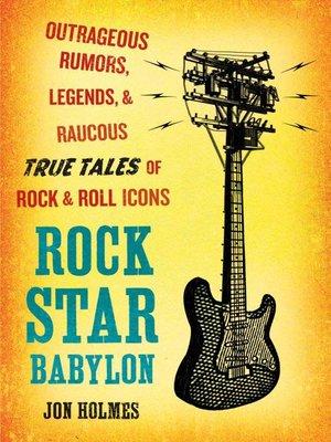 cover image of Rock Star Babylon