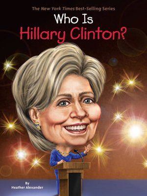 cover image of Who Is Hillary Clinton?