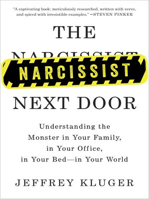 cover image of The Narcissist Next Door
