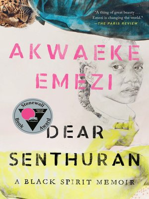 cover image of Dear Senthuran
