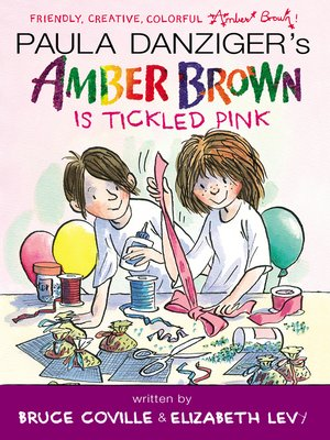 cover image of Amber Brown Is Tickled Pink