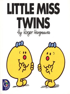 cover image of Little Miss Twins