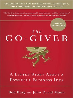cover image of The Go-Giver, Expanded Edition