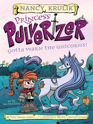 cover image of Gotta Warn the Unicorns!