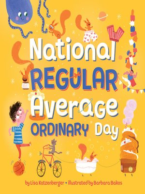 cover image of National Regular Average Ordinary Day