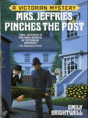 cover image of Mrs. Jeffries Pinches the Post