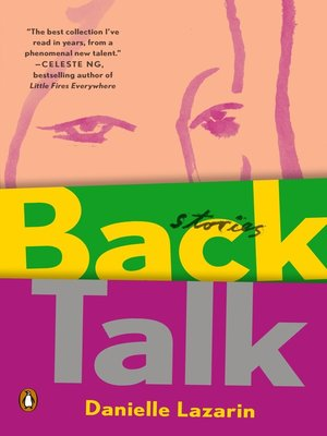 cover image of Back Talk