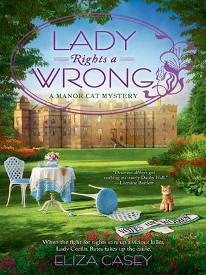 cover image of Lady Rights a Wrong