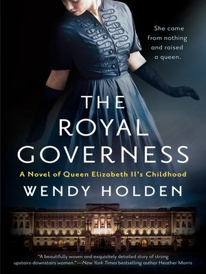 cover image of The Royal Governess