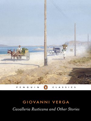 cover image of Cavalleria Rusticana and Other Stories