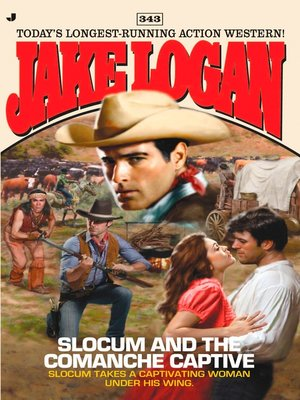 cover image of Slocum and the Comanche Captive