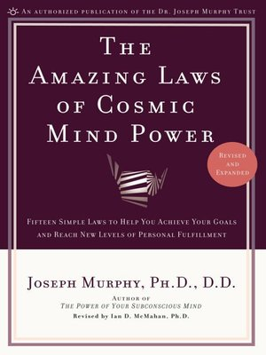 cover image of Amazing Laws of Cosmic Mind Power