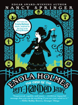 cover image of The Case of the Left-Handed Lady