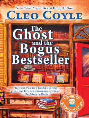 cover image of The Ghost and the Bogus Bestseller