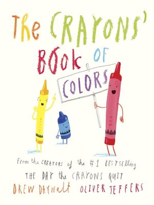 cover image of The Crayons' Book of Colors