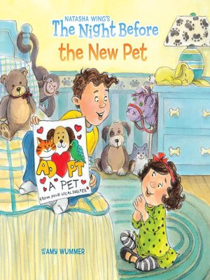 cover image of The Night Before the New Pet