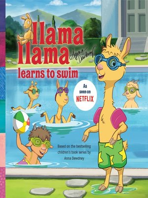 cover image of Llama Llama Learns to Swim