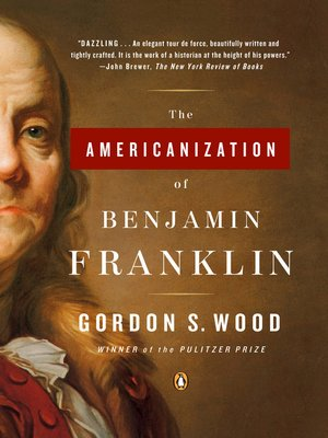 cover image of The Americanization of Benjamin Franklin
