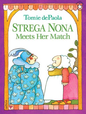 cover image of Strega Nona Meets Her Match