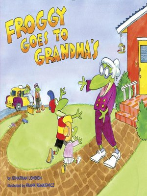 cover image of Froggy Goes to Grandma's