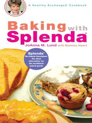 cover image of Baking with Splenda